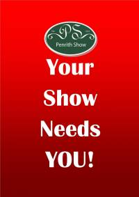 Penrith Show Needs YOU!